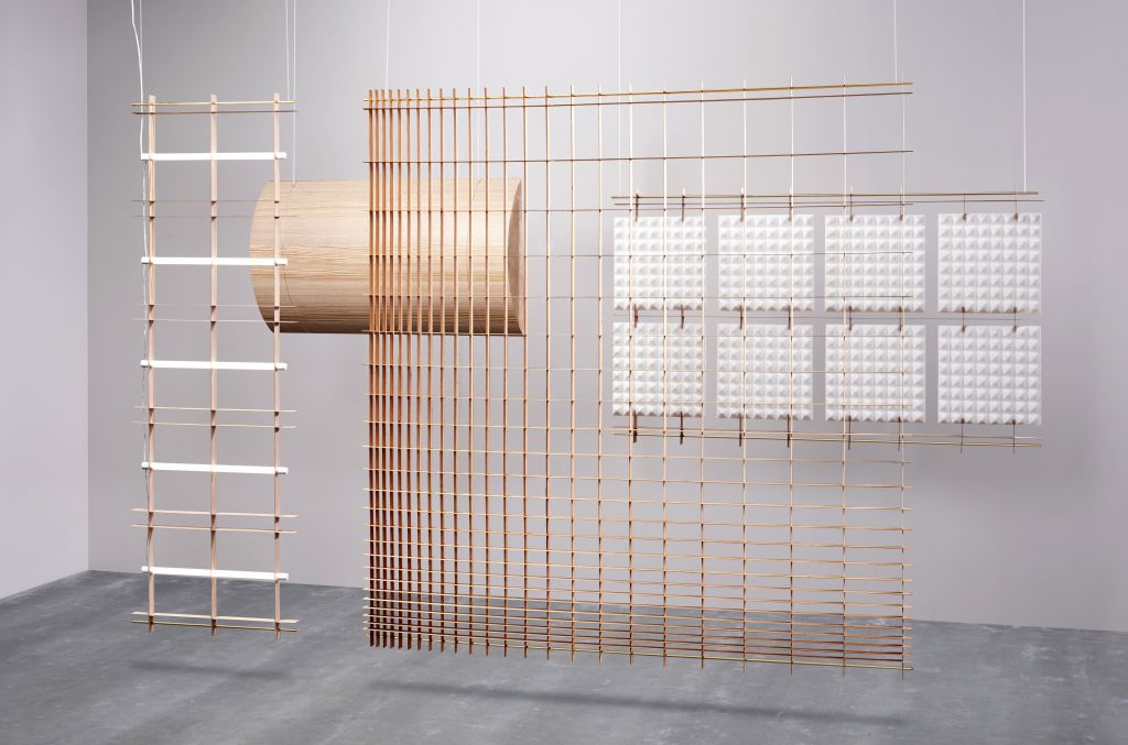 Grid space dividers by David Derksen, Transitions II project by Baars & Bloemhoff