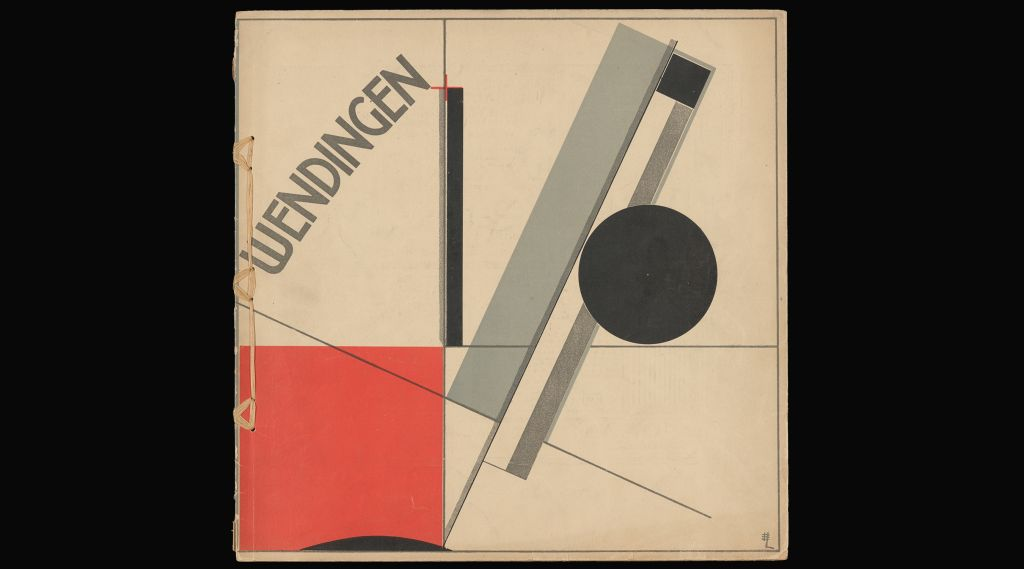 Wendingen, no. 4, november 1922. Cover and design: El Lissitzky. Library collection Het Nieuwe Instituut.